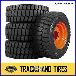New 10-16.5 (10x16.5) Galaxy Trac Star Skid Steer Tire Choose Your Rim Color
