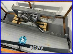 New 72 Skid Steer Sweeper Angle Broom Wolverine