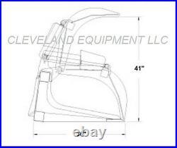 New 78/80 Industrial Scrap Grapple Bucket Skid Steer Loader Attachment Bobcat