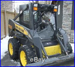 New Holland 1/4 LEXAN Door and cab enclosure. Skid steer glass window loader & New Holland 1/4 LEXAN Door and cab enclosure. Skid steer glass ...