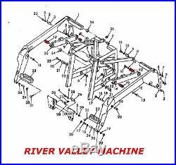New Holland 86837871 Boom Spindle Pivot Pin Lx885 Lx985 Lt190. B Ls180 Skid Steer