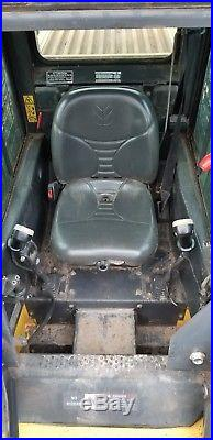 New Holland C185 Track Skid Steer Cab A/c Tree Spade! 535 Hours Exceptional
