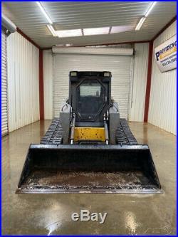 New Holland C190 Cab Track Skid Steer Super Boom