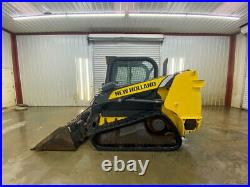New Holland C227 Cab Compact Track Loader With Ac/heat