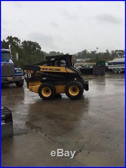 New Holland L180 Skid Steer