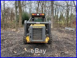 New Holland L180 skid steer loader 1400 hrs. EROPS withheat. Runs well