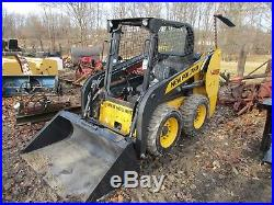 New Holland L213 Wheeled Skid Steer Loader, Open Rops