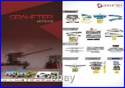 New Holland L220 Skid Steer Loader Decals / Adhesives / Stickers Complete Set