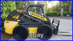 New Holland L230 skid steer bobcat skidsteer loader