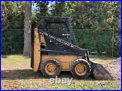 New Holland L250 Skid Steer