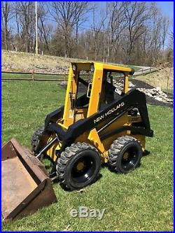 New Holland L455 Skid Steer