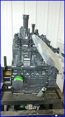 New Holland L465, LX465, L485, LX485 Skid Steer loader Reman Engine Shibaura N843