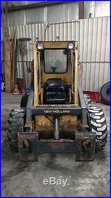 New Holland L553 Diesel Skid Steer Loader