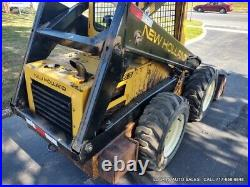 New Holland L553 Skid Steer Loader 38HP Kubota Diesel JUST SERVICED NEW TIRES