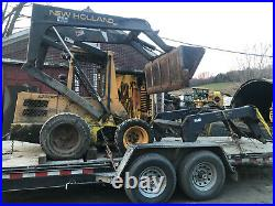 New Holland L553 skid steer fixer upper or parts hydraulic issues in Vermont