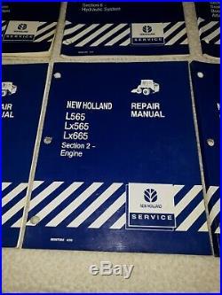 New Holland L565 LX565 LX665 Skid Steer Loader Service Repair Manual Original