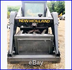 New Holland L775 Rubber Tire Skid Steer Loader Super Boom (we Ship)
