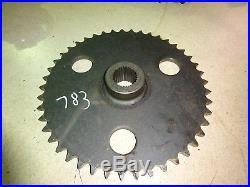 New Holland L783 ONE Axle Sprocket Gear Skid Steer Loader L-783 L781 L785
