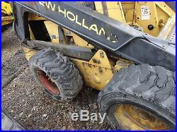 New Holland L785 Skid Steer Loader Perkins Dsl RUNS & WORKS L-785 QUICK ATTACH