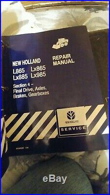 New Holland L865 LX865 LX885 LX985 Skid Steer Loader Shop Service Repair Manual