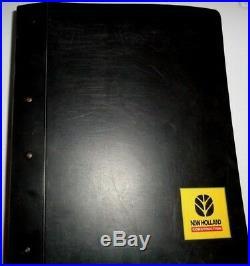 New Holland LS180. B/185. B/190. B LT185. B LT190B Skid Steer Loader Repair Manual