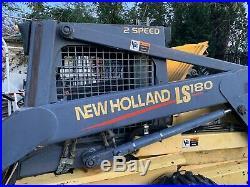 New Holland LS180 Skid Steer Loader. 67HP Standard Flow. Runs Great