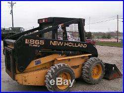 New Holland LX 865 Turbo Skid Steer Loader Heavy Duty