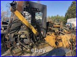 New Holland LX465 /LX485 skid steer loader for parts or fix with spare parts