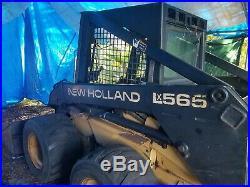 New Holland LX565 Skid Steer Loader