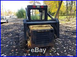 New Holland LX665 skid steer loader 1730 hrs. New tires runs great