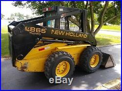 New Holland LX865 Skid Steer Loader 3904Hr JUST SERVICED