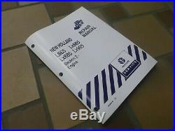 New Holland LX885 LX985 Skid Steer Loader Engine Shop Service Repair Manual