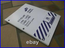 New Holland LX885 LX985 Skid Steer Loader Hydraulic System Service Repair Manual