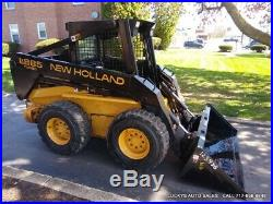 New Holland LX885 Skid Steer Loader 3586Hrs 60HP DIESEL JUST SERVICED New Bucket