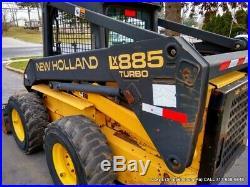 New Holland LX885 Skid Steer Loader FULLY SERVICED 63HP TURBO