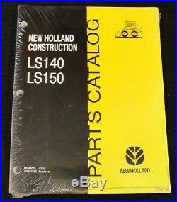 New Holland Ls140 Ls150 Skid Steer Loader Tractor Parts Catalog Manual Minty