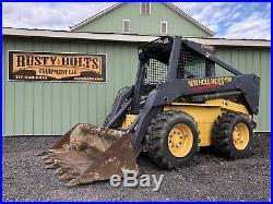 New Holland Ls190 Diesel Skid Steer Loader Skidloader 83 HP Cheap Shipping Rates