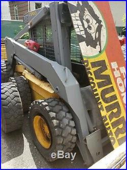 New Holland Ls190 Skid Steer 2 Speed Wheel Loader Tractor Bob Cat Diesel Tractor