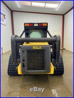 New Holland Lt185b With A/c Heat. Hydraulic Quick Attach Smooth Bucket
