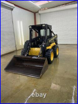 New Holland Lx565 Oprops Skid Steer Loader With Manual Qa