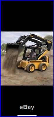 New Holland Lx885 Rubber Tire Skid Steer Loader Tractor Turbo 2 Speed Super Boom