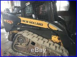 New Holland Model C175 Compact Track Skid Steer Loader C 175