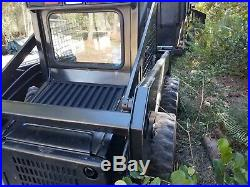 New Holland Skid Steer+Grapple+Bucket+Forks
