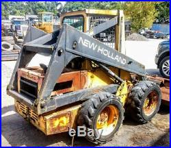 New Holland Skid Steer L553
