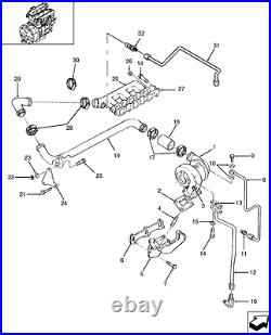 New Holland Skid Steer Oem Intake Manifold 87801588