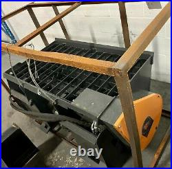 New Mower King Self Loading Skid Steer Loader Cement Concrete Mixer Attachment
