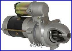 New Starter Motor Fits New Holland Skid Steer Loader L779d L783 L785 9800887