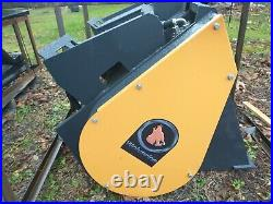 New Wolverine Self Loading Skid Steer Loader Cement concrete mixer Bucket bobcat