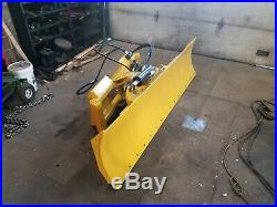 New extreme duty 8 foot six way dozer blade for skidsteer new design fits Cat