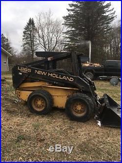 New holland skid steer L865